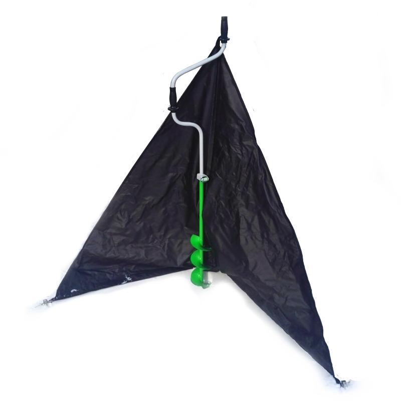 Для зимней рыбалки защита от ветра